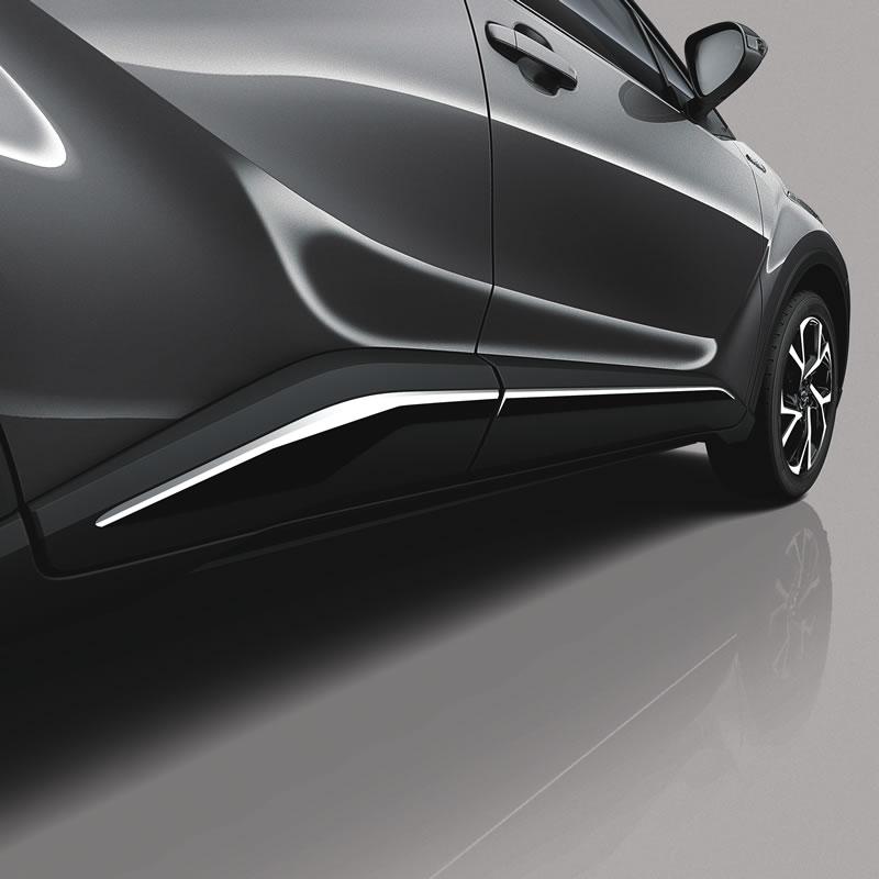 TOYOTA C-HR 2016> SUV Yan Kapı çıtası Chrom...